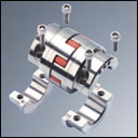Rotex drop-out center design coupling type A-H